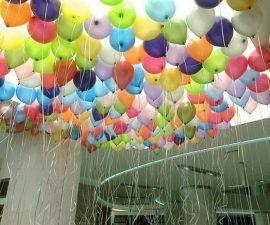Uçan Balon Süslemesi
